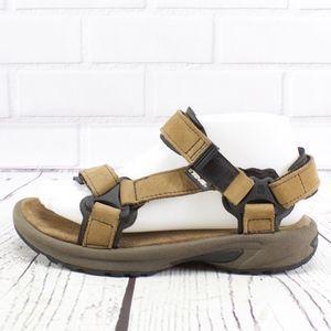 Teva Brown Suede Sport Hiking Sandals Size 7